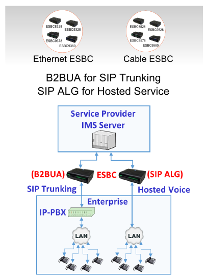 SIP Trunking & Hosted Service